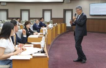 강동구의회, 지방의회연구소 실시,'찾아가는 의회'강좌 참여