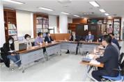강동구의회 이원국 의원, 명일역 먹자골목'안전한 보행환경 조성사업'설명회 참석